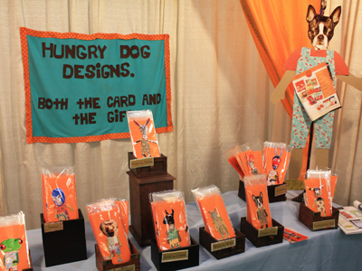 national stationery show : hungry dog designs