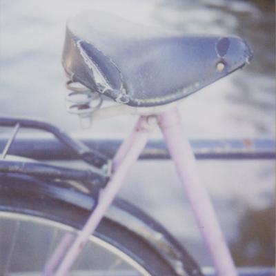 amsterdam : bike on pastoorsbrug, brouwersgracht & keizersgracht