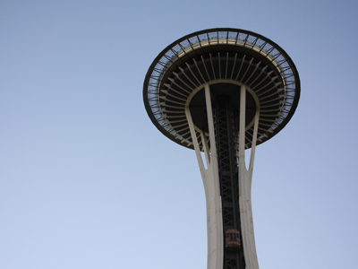 friday : space needle