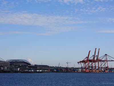rainier, hiding behind safeco field