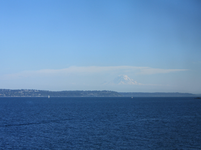 from the ferry to bainbridge island