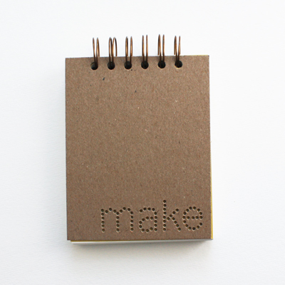 verb notebooks : make