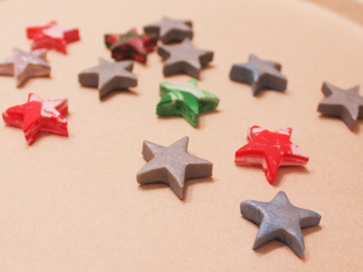 heather's sculpey stars