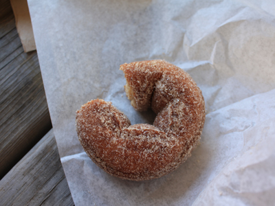apple spice donut