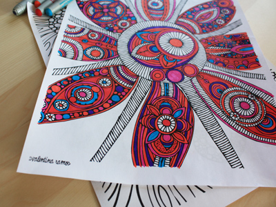 coloring pages from valentina ramos