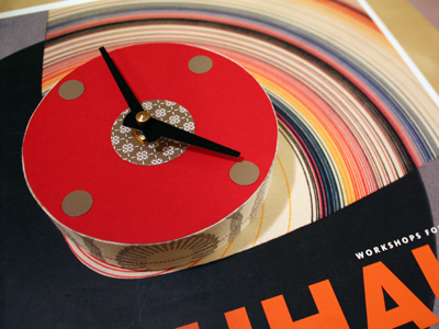 heather's red clock