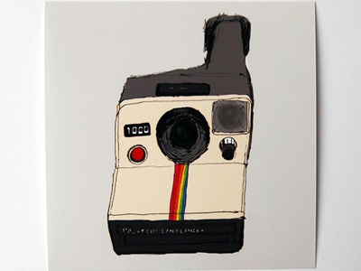 etsy : cut copy paste : vintage polaroid print