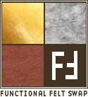 functional felt swap