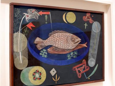 moma : paul klee : around the fish