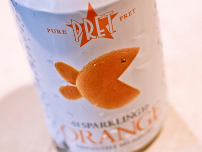 fish @ pret a manger