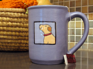 mug from holmquist pottery