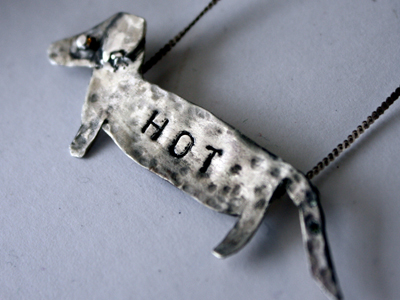etsy : rachel pfeffer designs : hot dog