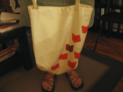 anna's tote bag