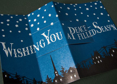 anagram press & igloo letterpress : starry night