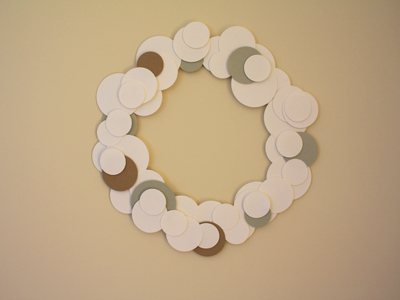 first wreath